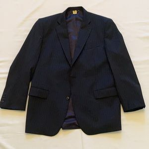 Brooks Brothers navy blue suit